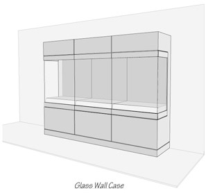 Glass Wall Case